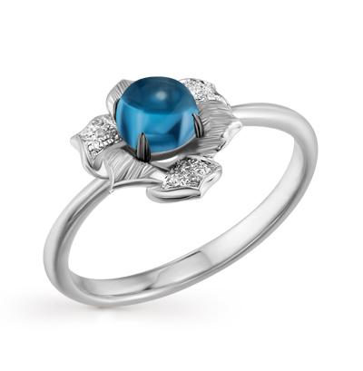 Фото «золотое кольцо с бриллиантами, аметистами и изумрудами»