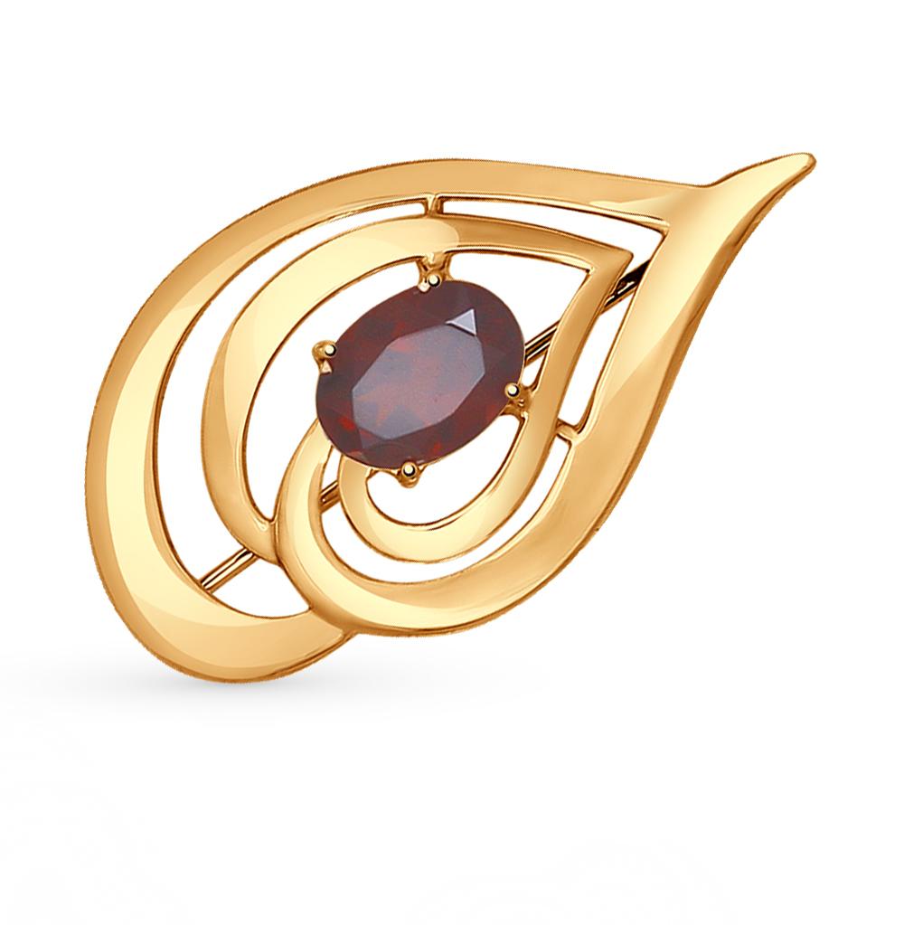 Sokolov Золотые серьги с куб. циркониями, 021499