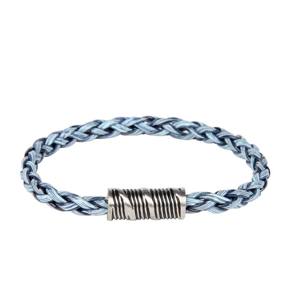 Фото «браслет из текстиля и ротанга с со сталью»